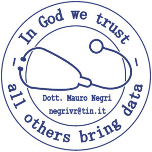 Logo bibliografia - In God we trust, all others bring data